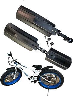 26 英寸(约 66.0 厘米)自行车挡泥板前后轮胎挡泥板套件快速释放自行车挡泥板套装适用于公路山地自行车肥胖自行车户外自行车