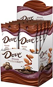 DOVE 巧克力包覆 & Dusted 全坚果 1.6 Ounce (Pack of 10)