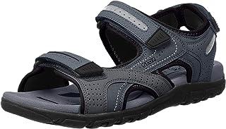 GEOX 男式 Uomo strada D 踝带凉鞋