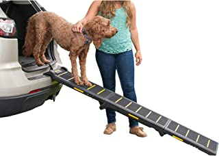 Pet Gear Travel-Lite Tri-Fold Pet Ramp 黑色/黄色 三折
