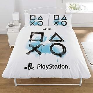 Sony 索尼 Playstation 羽绒被套装,涤纶白色,双