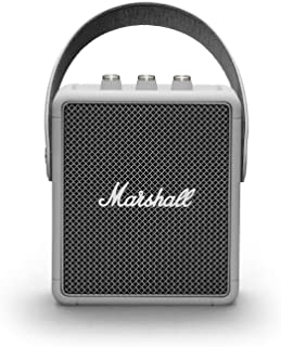 Marshall Stockwell II Portable Bluetooth Speaker - Grey, NEW