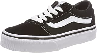 Vans 范斯 中性儿童 Ward 麂皮/帆布运动鞋 灰色