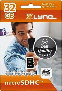 Xlyne 4 级存储卡 microSDHC 4 GB7432000 32 gb