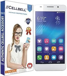 CELLBELL 防碎,光面屏幕保护膜Huawei Honor 6 Huawei Honor 6 Glossy 透明的