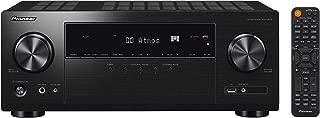 Pioneer 先锋 VSX-934 接收器 7.2 通道(7x160 瓦,6 个 HDMI 输入 (4K),杜比 Atmos,DTS:X,杜比 Atmos 高度虚拟化器,可与 Sonoss,Zone 2,AirPlay 2,蓝牙,USB)兼容