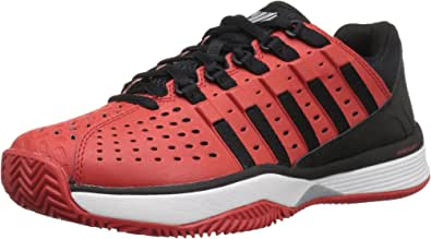 K-Swiss Men's Hypermatch Tennis Shoe Fiery Red/Black