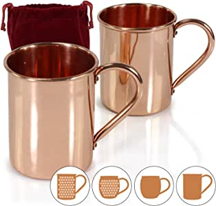 Amazy Moscow Mule 马克杯 2x Flat Cylinder 10-0011-02
