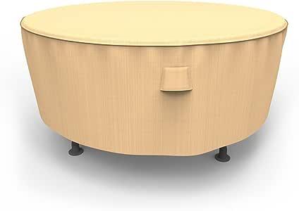 Budgete Chelsea 圆形庭院桌套 超大 棕色 P5A07TN1