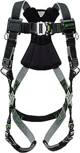 Miller 革命束带 dualtech 织带,前 D 型环, SIDE D 形环和鼠标垫和 quick-connect 腿扣,黑色 黑色 Large/XL
