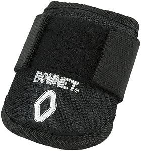 Bownet 棒球/垒球青少年护肘,黑色,均码
