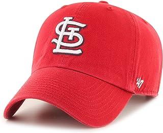 '47 Brand 圣路易红雀队 Clean Up 帽子 红色/白色