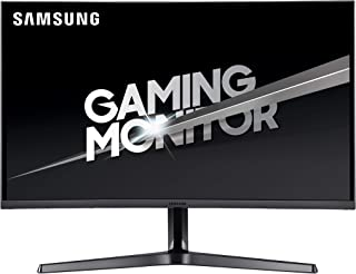Samsung LC27JG52QQUXEN 27-Inch Curved WQHD 144 Hz LED Gaming Monitor - Dark Silver