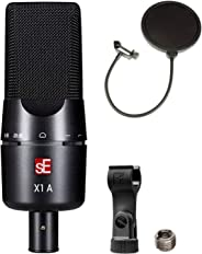 sE Electronics X1 A 大號隔膜電容麥克風套裝,帶 CAD 音頻 Pop 過濾器
