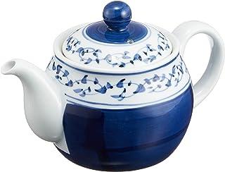 茶壶 时尚 : 有田烧 果卷唐草 带U型滤茶壶 (450cc) Japanese Tea pot Porcelain/Size(cm) 17.1x10.6x10.5/No:731603