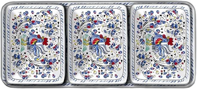 Le Cadeaux Rooster 潜水器套装(4 件套) 蓝色 300RB