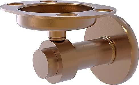 Allied Brass 水星杯和牙刷架 拉丝青铜 926-BBR