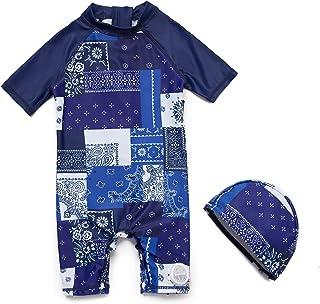 Bonverano TM 儿童 UPF 50+ * S/S 一件式拉链*衣
