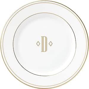 Lenox 联邦金块交织字母餐具 字母 D 871942