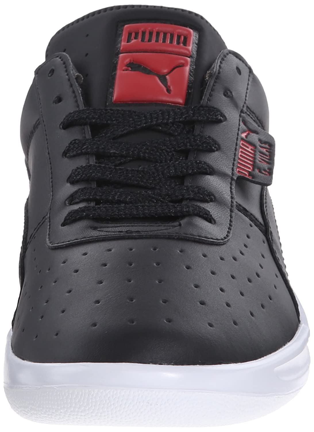 【PUMA】 PUMA图片PUMA价格PUMA Men's G. Vilas L2 Icon athletic, Black/High Risk Red,  7.5 D US - 亚马逊中国