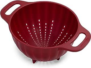 KitchenAid Plastic Colander/Strainer, 5-Quart, Red