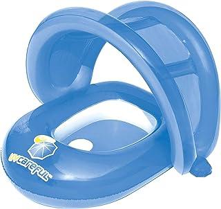H2OGo Bestway - UV Careful 婴儿护理座椅泳池浮动,蓝色