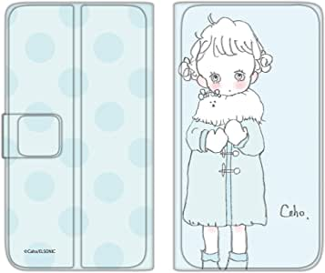 caho 翻盖保护套超薄翻盖印花外套与少女手机保护壳翻盖式适用于所有机型  コートと少女D 4_ AQUOS ZETA SH-04F