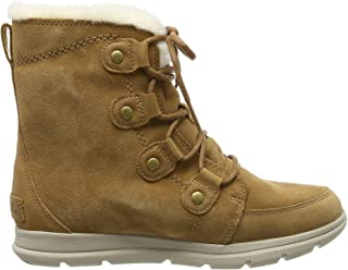 Sorel 女士探险靴 Joan 雪地靴 Braun (Camel Brown, Ancient Fossil 224) 37 EU