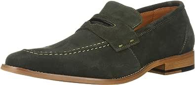 STACY ADAMS 男士 Colfax 软帮鞋一脚蹬乐福鞋 深绿色 12 M US