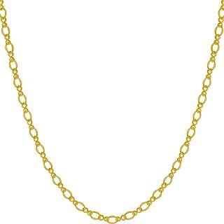 LIFETIME JEWELRY 2.5mm 意大利费加罗项链 24k 真金镀金