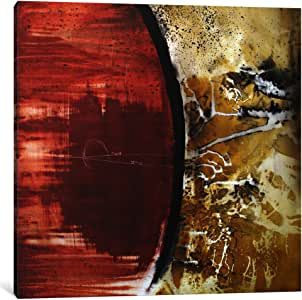 """iCanvasART 1 Piece Parallel Dimensions Canvas Print by Heather of ford, 18 by 18""""/1.5"""" Deep"""