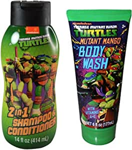 Nickelodeon 忍者神龟变体 2 合 1 洗发水和沐浴露