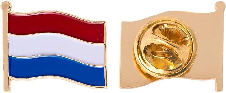 荷兰国旗胸针 MADE OF METAL 纪念品