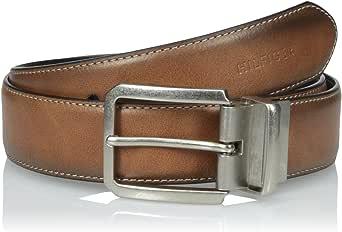 Tommy Hilfiger 汤米·希尔费格 棕色/黑色 35mm 皮带 腰带 11TL02X133 Size 40(亚马逊自营 香港直邮)
