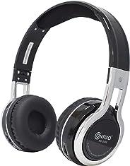 Contixo 儿童头戴式可折叠蓝牙耳机儿童*85分贝带音量限制器,内置麦克风,Micro SD 卡槽,音乐播放器,FM 立体声收音机,电话控制KB-2600-BK