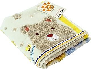 UCHINO 面巾 象牙色 熊 约34×75厘米 柔软 9006F704 I