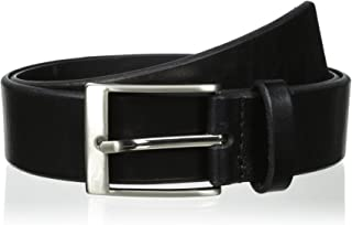 Florsheim 男士 38 Mm Beveled Edge Casual Belt 黑色 34