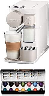 De'Longhi 德龙 Nespresso EN 500.W咖啡机 (1400 W, 1 升, 19 巴) 丝滑白色