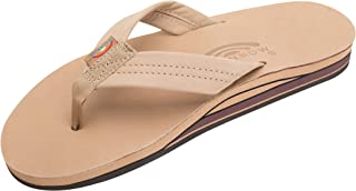 Rainbow Sandals 男士 Double Layer Premier Leather with Arch Support 凉鞋 Rainbow Double Layer Leather Sandal - Men's