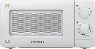 Daewoo QT1R 紧凑手动控制微波炉 白色 QT1R