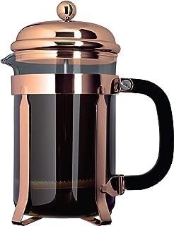 Grunwerg Cafe Ole 经典咖啡机玻璃咖啡馆 铜色 3-Cup TM03CU