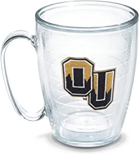 Tervis Oakland University Emblem Individually Boxed Mug, 16 oz, Clear