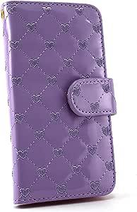 whitenuts 保护套翻盖式项链心形吊坠 紫色 21_ Liquid Z530