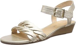 Clarks 女士 MENA Blossom 包头高跟鞋