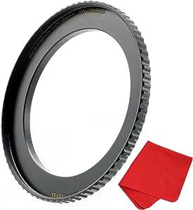 突破性 step-up 戒指 CNC machined 黄铜 49-55mm