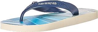 havaianas 男式冲浪凉鞋白色/黑色
