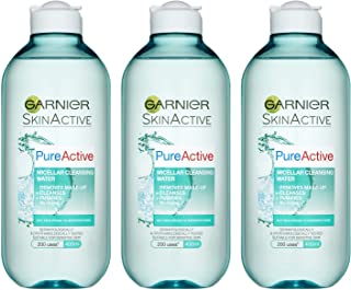Garnier 卡尼尔 洁肤卸妆水(油性肌肤) 400ml*3瓶