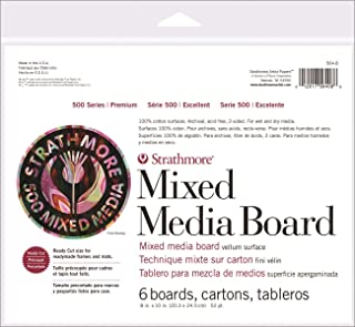 Strathmore Paper 564-8 500 Series Mixed Media Board