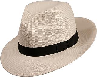 Levine Hat Co. 男式千年巴拿馬草軟呢帽