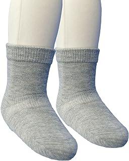 Baby Story 素色袜子不易脱落的规格 日本制造 灰色 9-12cm